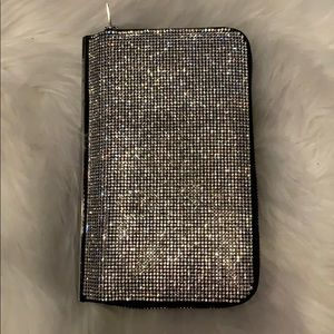 New without tag Alexander Wang rhinestone wallet.